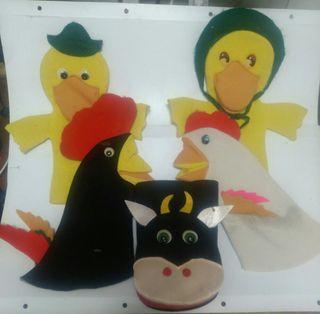 conjunto de marionetas 4