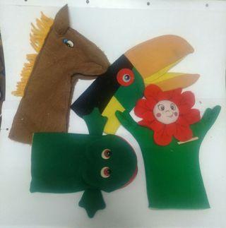 conjunto de marionetas 5