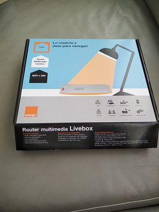 Router wifi 300 multimedia Livebox Orange