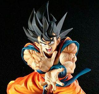 Fig. Original Goku final Kamehameha DBZ Banpresto