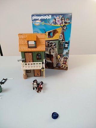 Playmobil 4796. Casa pirata de Súper 4