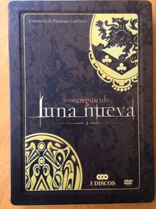 Luna nueva steelbook triple dvd