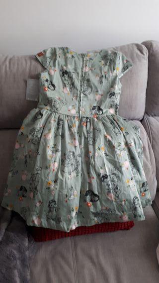 vestido de la TiendaDisney para niñas,sin estrenar