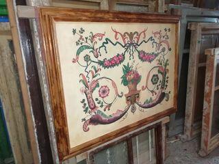 cuadro certificado, 96 x 112 centímetros