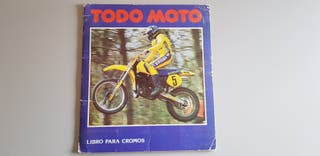 ALBUM CROMOS TODO MOTO 1983