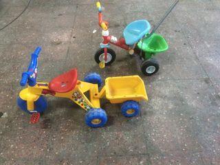 2 triciclos para niños