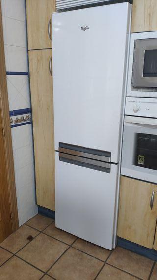 frigorífico combi whirlpool