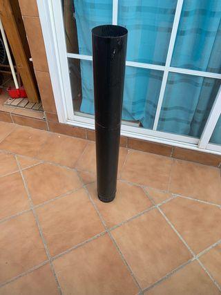 Tubo chimenea Diámetro 120 mm x 1 metro