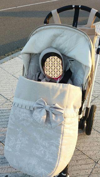 Saco/ colchoneta silla universal
