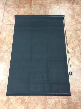 Cortina negra enrollable screen