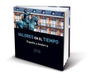 Libro CON SELLOS AÑO 2018. ESPAÑA Y ANDORRA 2018