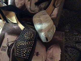 Zapatos Fiesta Boda azul talla:41 Nuevo