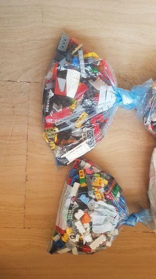 Lego piezas sueltas