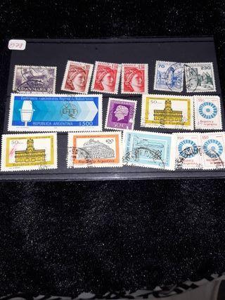 Lote de sellos extranjeros.