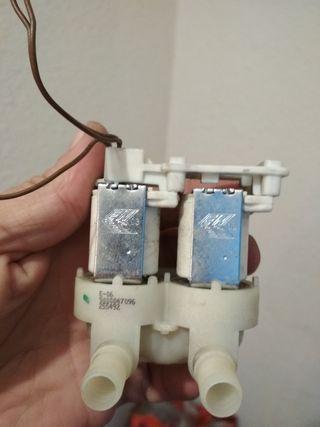 Solenoide bobina corte paso agua lavadora