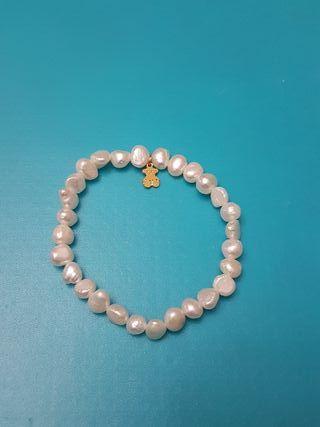 3f07d175ea59 Pulsera de perlas naturales de segunda mano en Madrid en WALLAPOP