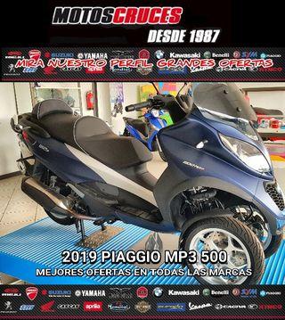 2019 PIAGGIO MP3 500 CARNET 125cc MEJORES OFERTAS