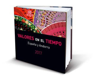 LIBRO CON SELLOS AÑO 2017. Sellos España y Andorra