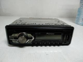 cambio por carrete o caña pesca radio Pioneer