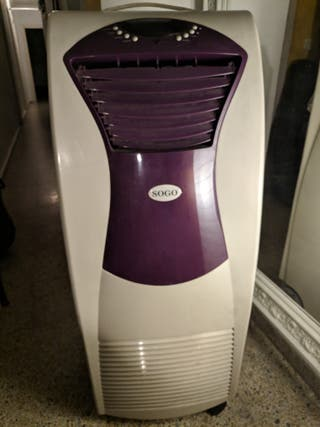 aire acondicionado portátil con calefactor