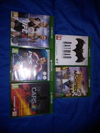 5 Videojuegos Xbox One