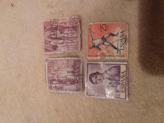sellos y monedas antiguas