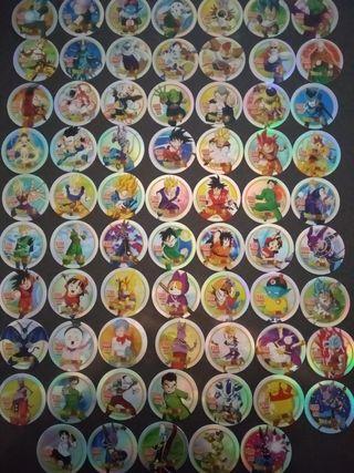 Dragon Ball Super coleccion entera tazos gigantes
