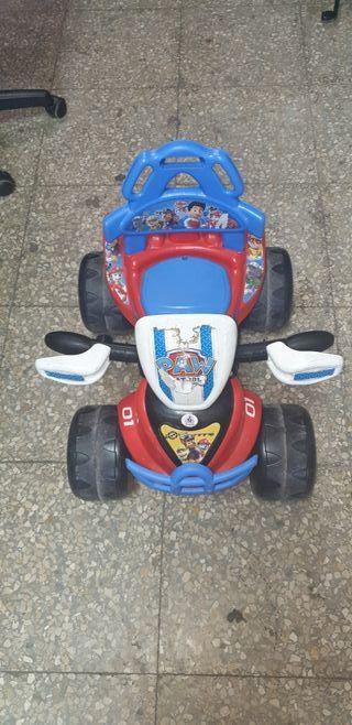 Quad y moto juguete