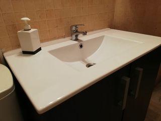 Encimera ceramica lavabo 80 cm