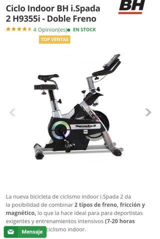 bicicleta spining BH