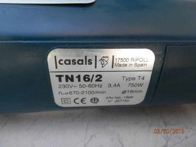 TALADRO CASALS TN16/2