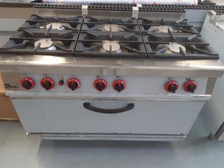 Cocinas industriales a gas