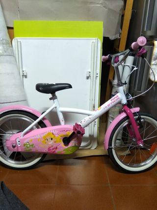 Bicicleta de niña Decathlon rueda 16