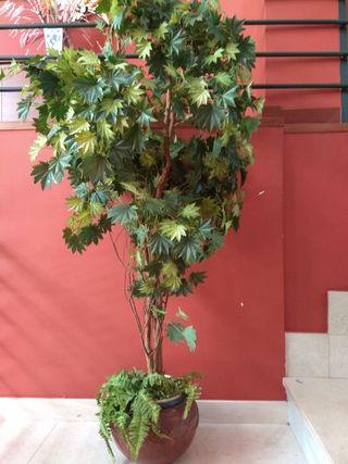 planta artificial q parece totalmente natural