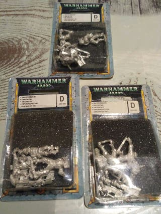 Warhammer 40K Rastreadores Tau en Blister