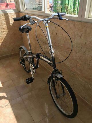 Bicicleta plegable runfit muy poco uso.