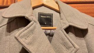 abrigo 3/4 impecable