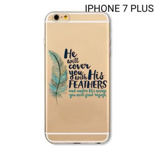 Funda transparente de Iphone 7 plus