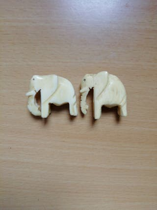 elefantes de marfil