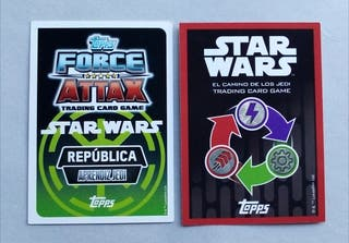 Estampas Cromos Star Wars Carrefour
