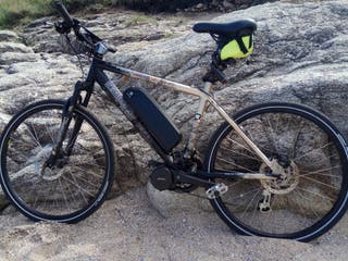 Bicicleta eléctrica montaña con motor central
