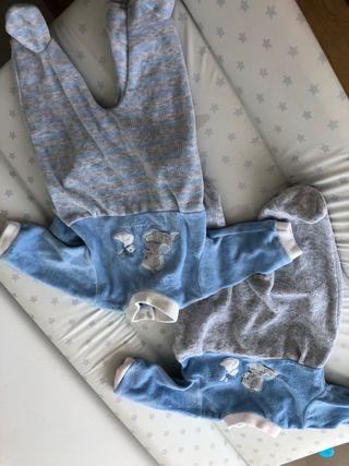 Pijamas bebé talla 0