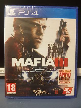 Videojuego Mafia 3 Ps4