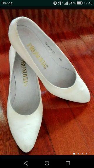 557d7b7e61 Zapatos de novia de segunda mano en Bilbao en WALLAPOP