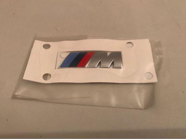 Anagrama M BMW Original Nuevo