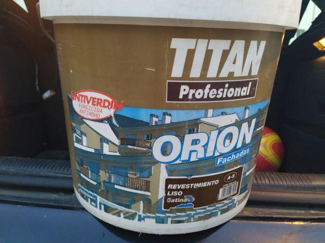 Cubo pintura Titan