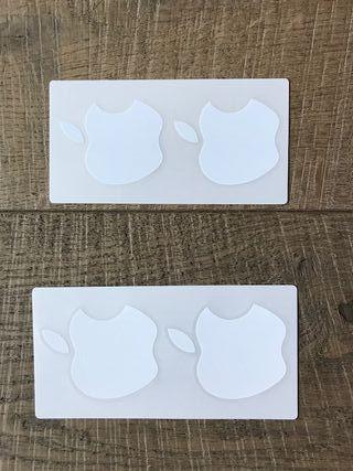 Pegatinas Apple manzana