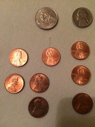 Colección monedas antiguas Ingléses