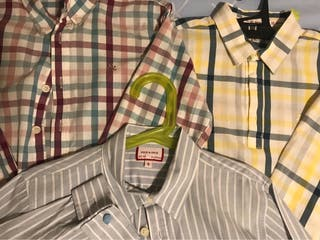 Neck & Neck lote 6 camisas talla 8-9