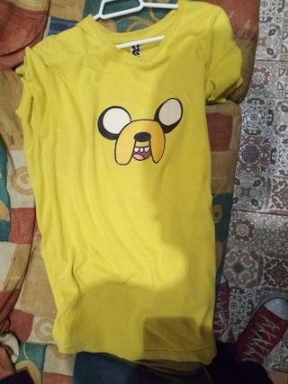 camiseta jake el perro